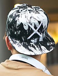 preiswerte -unisex Mode sticken Baumwollbaseballmütze Sonnenhut Männer Frauen lässig Sommer alle Jahreszeiten schwarz