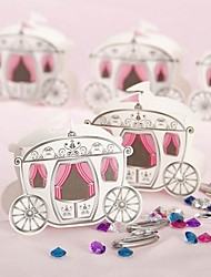 12pcs Cinderella Carriage Wedding Candy Box 9 x 3.3 x 7.5 cm Beter Gifts® Party Decoration