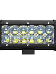 1pcs 7inch 60W Led Work Light Bar 5D Spot Beam SUV Offroad Driving Fog Lights Led Light Car Boat lamps