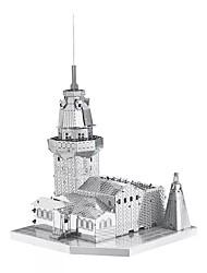 Kit de Bricolage Puzzles 3D Puzzle Puzzles en Métal Jouets Tour Bâtiment Célèbre Architecture 3D A Faire Soi-Même Articles d'ameublement