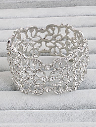 cheap -Bracelet Cuff Bracelet Alloy Irregular Vintage Party Special Occasion Birthday Jewelry Gift Silver,1pc