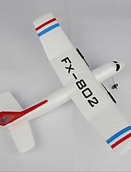 Недорогие -Планер RC Самолет на радиоуправлении Белый Требуется некоторая сборкаПульт Yправления Летательный Aппарат USB Kабель Руководство
