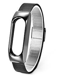abordables -Bracelet de Montre  pour Mi Band 2 Xiaomi Bracelet Sport Métallique Sangle de Poignet