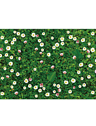 Wall Stickers Wall Decals Style Green Grass PVC Wall Stickers