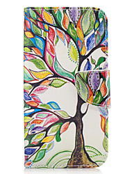 cheap -For Samsung Galaxy A3(2016) A5(2017) Case Cover Tree Pattern PU Material Painted Mobile Phone Case A3(2017) A5(2016)