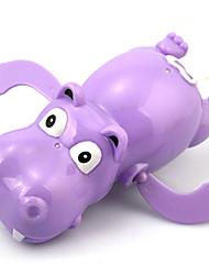 Juguete de Agua Juguete de Cuerda Juguete de Baño Juguetes Caballo Hipopótamo Piezas Carnaval Día del Niño Regalo