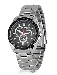 Men's Sport Watch Dress Watch Fashion Watch Wrist watch Quartz Calendar Shock Resistant Large Dial Alloy Band Casual Multi-Colored