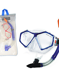 Swimming Goggles NO TOOLS Required Diving / Snorkeling Swimming PVC Blue