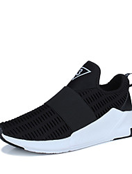 Недорогие -Для мужчин-Для прогулок Повседневный Для занятий спортом-Тюль Дерматин-На плоской подошве-Удобная обувь-Спортивная обувь