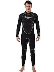 cheap -SLINX Men's 3mm Wetsuits Dive Skins Waterproof Thermal / Warm Quick Dry Windproof Breathable Tactel Coolmax Memory Foam Diving Suit