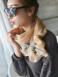 New Korean Version Of Gradient Color Printing Scarf Scarf