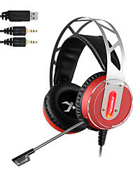 XIBERIA V12 Gaming Headset Led Light Computer Super Bass Casque Audio Vibration And Glow Pc Gamer Headphones With Microphone