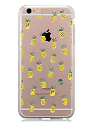 abordables -Funda Para Apple iPhone 7 Plus iPhone 7 Diseños Funda Trasera Fruta Suave TPU para iPhone 7 Plus iPhone 7 iPhone 6s Plus iPhone 6s iPhone