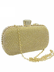 cheap -Women's Bags Polyester Evening Bag Metallic Gold / Black / Silver