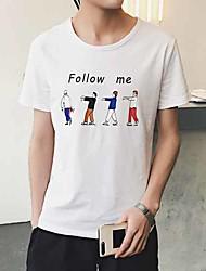 As mulheres novas do verão que t-shirt da impressão t-shirt que fundem o vento da camisa aberdeen
