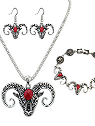 cheap -Women's Jewelry Set Jewelry Resin Chrome Animal Unique Design Dangling Style Africa Movie Jewelry Multi-ways Wear Gothic Rock Graduation