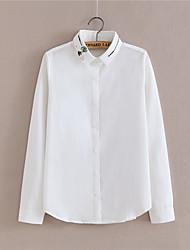 voorjaar nieuwe Koreaanse fan tij beroepsmatige ol blouses witte kraag shirt met lange mouwen blouse
