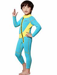 Bambini 2mm Muta intera Asciugatura rapida Design anatomico Traspirante Spandez Neoprene Scafandro Manica lunga Scafandri-Nuoto Immersioni