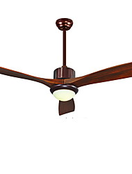 Ceiling Fan ,  Country Wood Feature for LED Wood/Bamboo Living Room Bedroom Study Room/Office