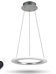 cheap -Dimmable  Ring LED Pendant Light Lamp Indoor Home Deco Acrylic Lighting Lamps Fixtures for Study with Remote Control