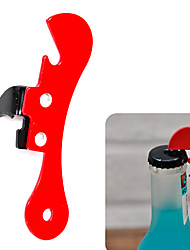 cheap -1Pcs  Cooking Tools Can Opener Multifunctional Can Opener Beer Bottle Opener Super Good Jar Opener Random Color