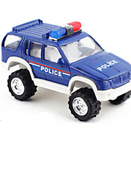 cheap -Die-Cast Vehicles Pull Back Vehicles Toy Cars Construction Vehicle Police car Car Metal Alloy Metal Kids Unisex Boys Gift Action & Toy