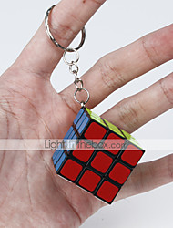 cheap -Rubik's Cube Smooth Speed Cube Magic Cube Key Chain Puzzle Cube Smooth Sticker Fun Classic Gift Fun & Whimsical Classic Unisex
