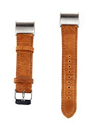 Недорогие -Для fitbit заряд 2 полосы замены роскоши неподдельной кожи смотреть полосы моды браслет ремешок