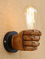 economico -Paese / Retrò / Moderno / Contemporaneo Lampade da parete Resina Luce a muro 110-120V / 220-240V 40W