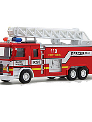 Toy Cars Toys Train Fire Engine Vehicle Toys Train Toys Metal Alloy Plastic Metal 1 Pieces Gift