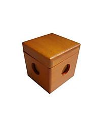 Недорогие -Пазлы Любань блокировки Строительные блоки Игрушки своими руками Квадратная Хобби и досуг