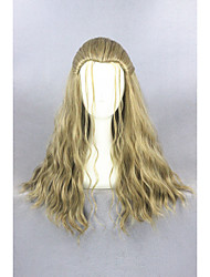 Meduim Long Curly Movie Thor Odinson 24inch Blond Cosplay WigsCS-261B