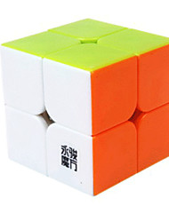 baratos -Rubik's Cube 2*2*2 Cubo Macio de Velocidade Cubos Mágicos Cubo Mágico Adesivo Liso Quadrada Dom