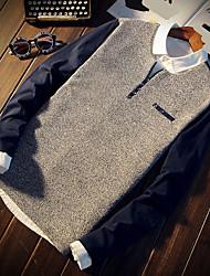 -p35- новые мужчины&# 39; s повседневная футболка с длинными рукавами японская деревянная плитка