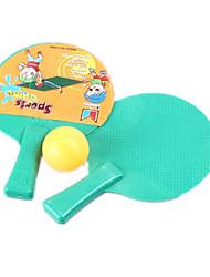 cheap -Balls Bouncy Ball Racquet Sport Toys Toys Novelty Circular Feather Plastic Pieces Boys' Girls' Gift