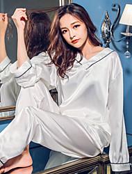economico -pigiama di seta traspirante comodo morbido sexy attillato sciolto