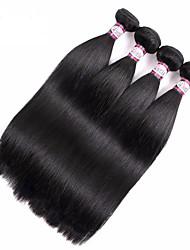cheap -Brazilian Virgin Hair Straight 360 Full Lace Frontal Clousre with 3 Bundles Full Head Set