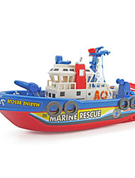 cheap -Model Building Kit Sound Electric Noctilucent Warship Ship Plastic Pieces Boys' Kid's Gift