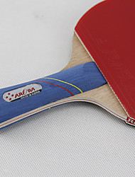 4 Stelle Ping-pong Racchette Ping Pang Gomma Manopola  lunga Manopola corta Brufoli