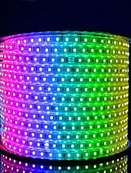 1M 60 Lights Waterproof Soft Light Belt Aluminum Wire(Random Color)