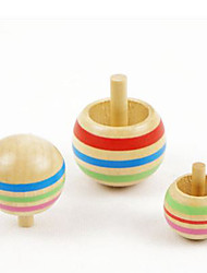 preiswerte -Kreisel Spielzeuge Kreisförmig Holz EDC Freizeit Hobbys
