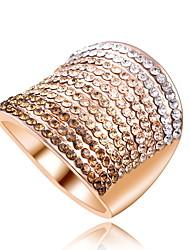 abordables -boda del gradiente del partido de diamantes de color amplia multi-par par de joyas declaración 1pc