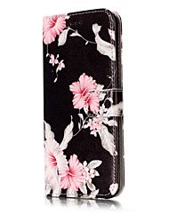 cheap -Case For Samsung Galaxy S8 S7 edge Card Holder Wallet with Stand Flip Magnetic Pattern Full Body Cases Flower Hard PU Leather for S8 S7