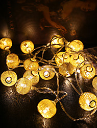 0.5W 1.2m 10 Original Festival  Christmas Ornament Lantern LED String Lights