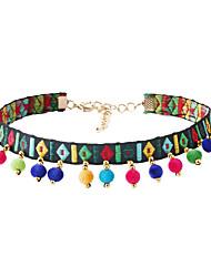 Dame Kort halskæde Trekantet Regnbue Smykker For Bryllup Fest Speciel Lejlighed Fødselsdag Daglig Afslappet 1 Stk.