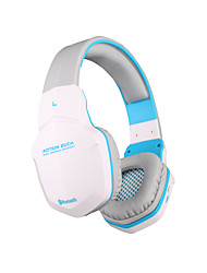 B3505 Bluetooth Sport Headset Wireless gaming headphone with Microphone for iPhone Mac Smartphones PC Computers Laptops(White)