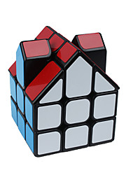 cheap -Rubik's Cube Alien Smooth Speed Cube Magic Cube Puzzle Cube Smooth Sticker House Gift