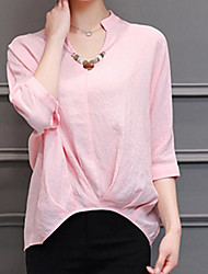 Signer 2017 new loose big yards coton casual manches courtes t-shirt femme