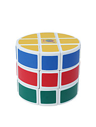 cheap -Rubik's Cube 3*3*3 Smooth Speed Cube Magic Cube Puzzle Cube Smooth Sticker Cylindrical Gift
