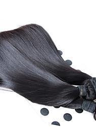 """Недорогие -Пряди натуральных волос Реми Высокое качество 12""""30"""" Более года 0.5 Повседневные Классика Прямой силуэт"""